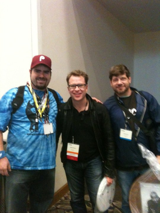 With Stanton Moore at Pasic 2010. HBIJ!!!!
