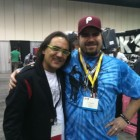 With Horacio El Negro Hernandez at Pasic 2010.